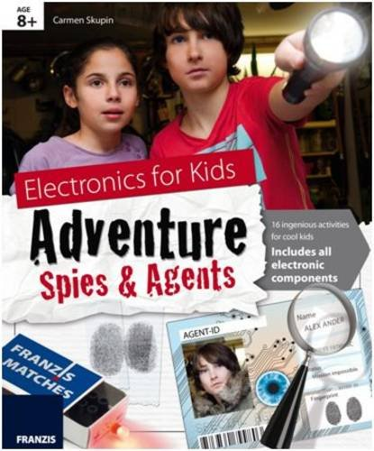 9783645652353: Electronics for Kids: Adventure Spies & Agents Kit & Manual