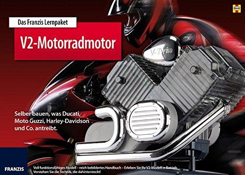 Motorrad-V2-Motor. Selber bauen, was Harley-Davidson, Moto Guzzi, Ducati und Co. antreibt. Bausatz....