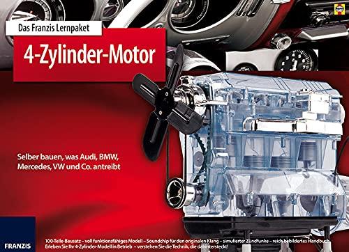9783645652759: Das Franzis Lernpaket 4-Zylinder-Motor: Selber bauen, was Audi, BMW, Mercedes, VW und Co. antreibt