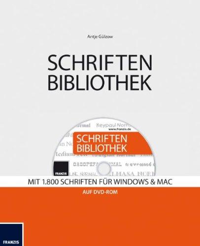 9783645700061: Schriften Bibliothek: Mit 1800 Schriften f�r Windows & Mac