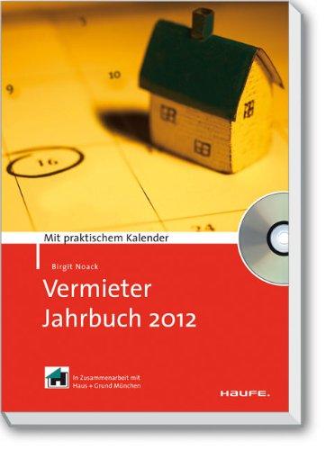 9783648007341: Vermieter-Jahrbuch 2012: Mit praktischem Kalender