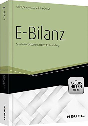 9783648018903: E-Bilanz - mit Arbeitshilfen online
