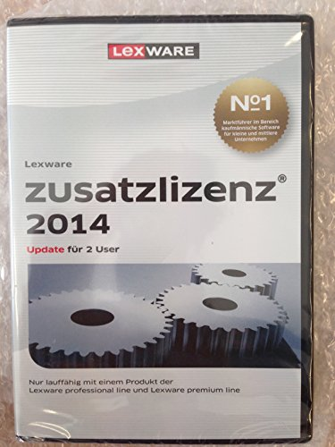 9783648050972: Lexware Zusatzlizenz 2014 f�r 2 User (Version 14.00) [import allemand]