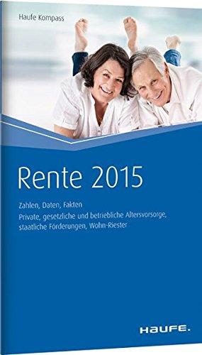 9783648063606: Renten Kompass 2015 - Zahlen, Daten, Fakten