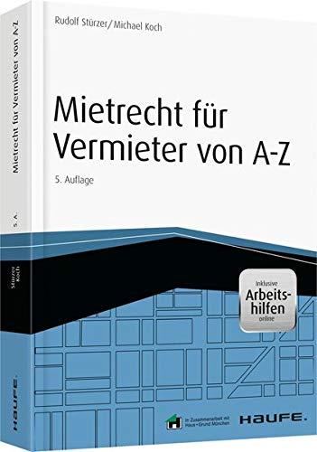 9783648065662: Mietrecht f�r Vermieter von A-Z - inkl. Arbeitshilfen online