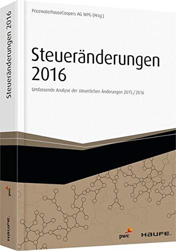 9783648070437: Steuer�nderungen 2016