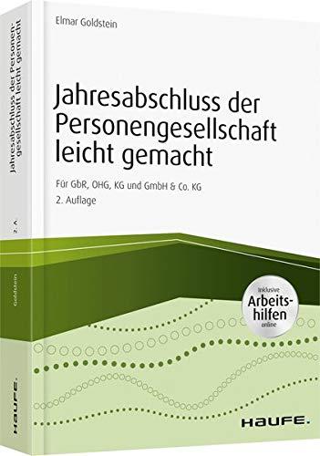 9783648093009: Jahresabschluss der Personengesellschaft leicht gemacht - inkl. Arbeitshilfen online: Für GbR, OHG, KG und GmbH & Co. KG
