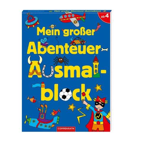 9783649611097: Mein großer Abenteuer-Ausmalblock