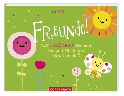 9783649611226: Freunde!: Das fröhlichste Malbuch der Welt für kleine Künstler