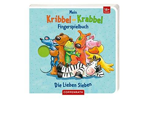 9783649612766: Mein Kribbel-Krabbel Fingerspielbuch: Die Lieben Sieben
