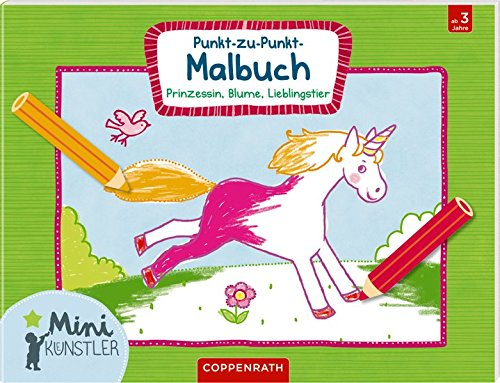 9783649621584: Punkt-zu-Punkt-Malbuch: Prinzessin, Blume, Lieblingstier