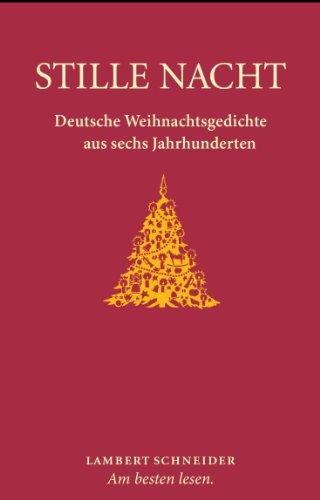 9783650252401 Stille Nacht Deutsche Weihnachtsgedichte Aus Sechs