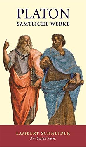 Sämtliche Werke in drei Bänden: Platon