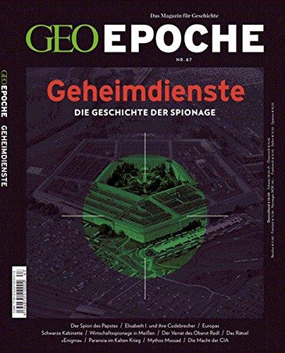 9783652003445: GEO Epoche 67/2014 - Geheimdienste