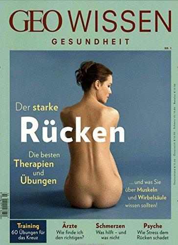 9783652004855: GEO Wissen Gesundheit Rücken mit DVD