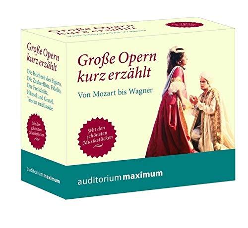 9783654602738: Große Oper kurz erzählt. Von Mozart bis Wagner: Von Mozart bis Wagner