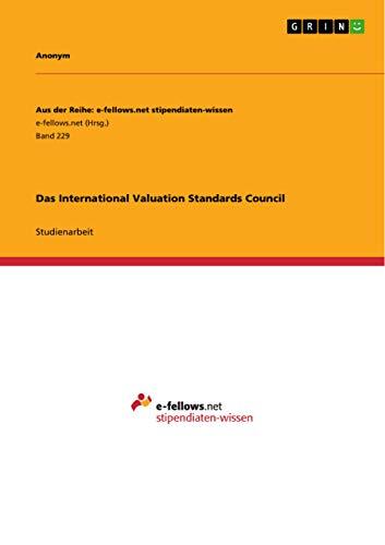 Das International Valuation Standards Council