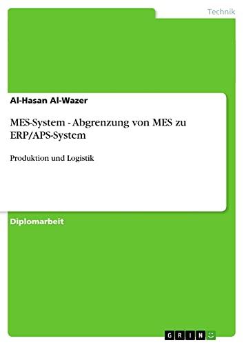 MES-System - Abgrenzung von MES zu ERP/APS-System: Al-Hasan Al-Wazer