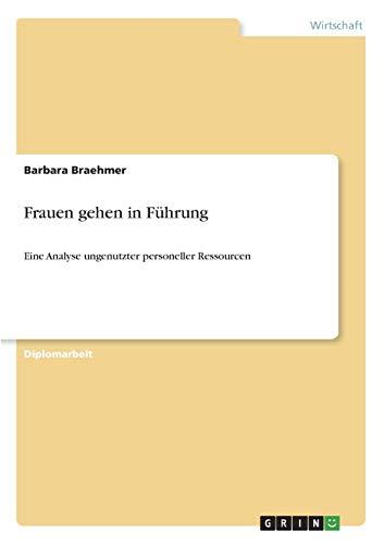 Frauen Gehen in Fuhrung: Barbara Braehmer
