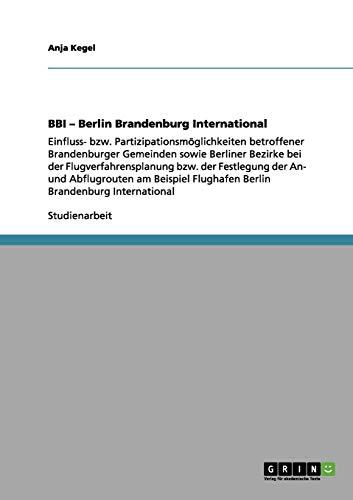 9783656054221: BBI - Berlin Brandenburg International