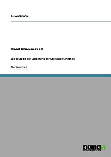9783656056034: Brand Awareness 2.0