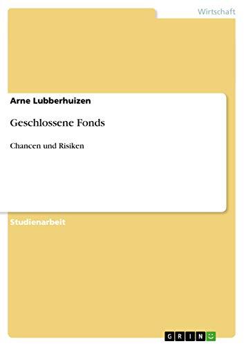 9783656075691: Geschlossene Fonds (German Edition)
