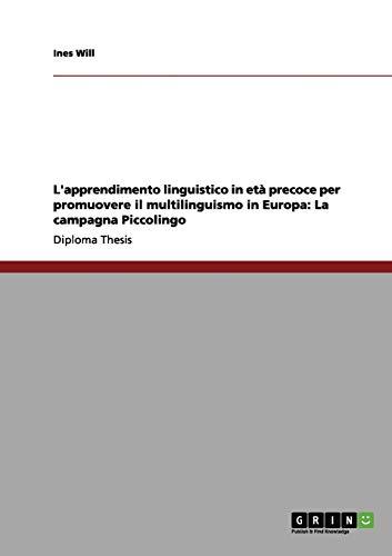 Landapos;apprendimento linguistico in età precoce per promuovere: Will, Ines