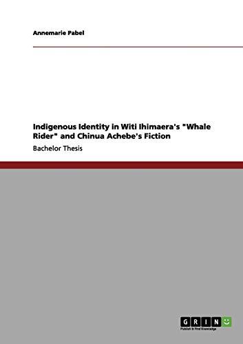 9783656089612: Indigenous Identity in Witi Ihimaera's