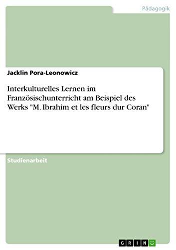 9783656093435: Interkulturelles Lernen im Französischunterricht am Beispiel des Werks