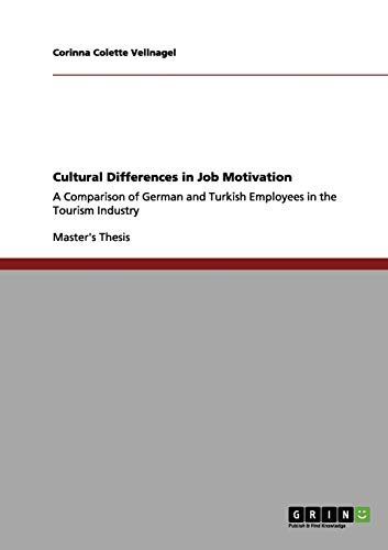 9783656097136: Cultural Differences in Job Motivation