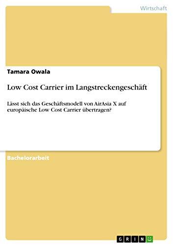 Low Cost Carrier Im Langstreckengeschaft: Tamara Owala