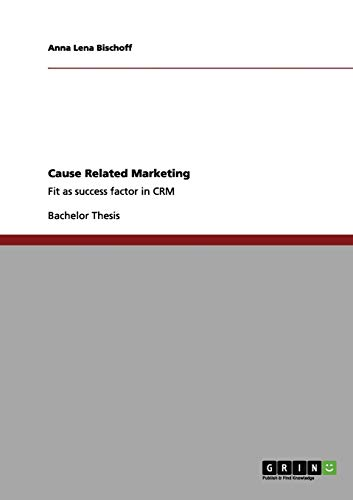9783656119227: Cause Related Marketing
