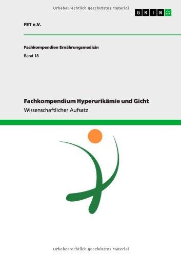 9783656122487: Fachkompendium Hyperurikamie Und Gicht (German Edition)