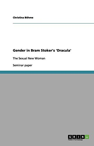 9783656144533: Gender in Bram Stoker's 'Dracula'
