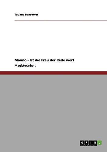 Manno - Ist die Frau der Rede: Tatjana Bansemer
