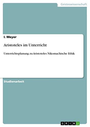 9783656168416: Aristoteles im Unterricht (German Edition)
