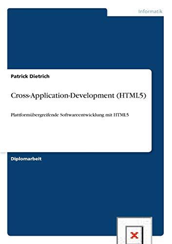 9783656171881: Cross-Application-Development (HTML5) (German Edition)