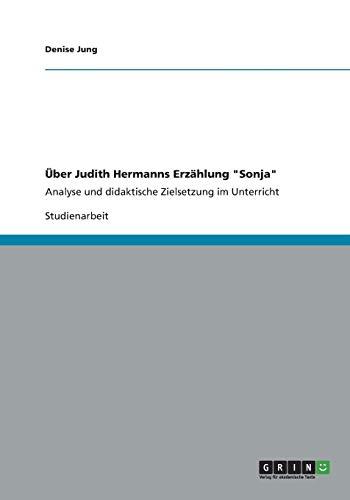 9783656178354: Über Judith Hermanns Erzählung