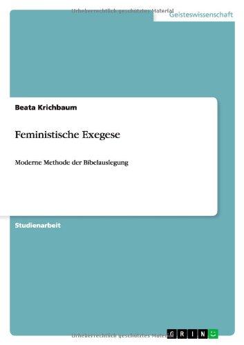 9783656185765: Feministische Exegese