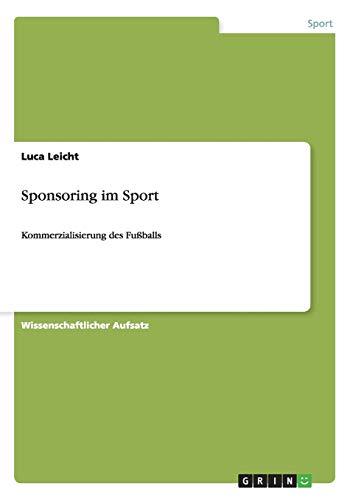 9783656197546: Sponsoring im Sport (German Edition)