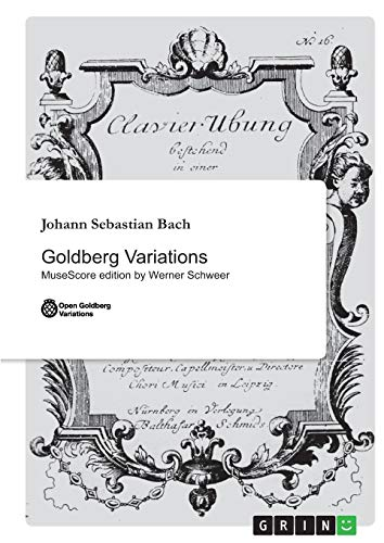 9783656230809: Goldberg Variations