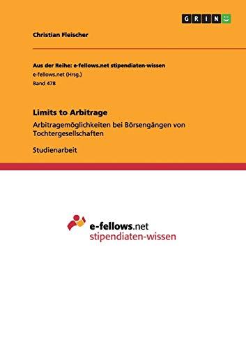 Limits to Arbitrage: Christian Fleischer