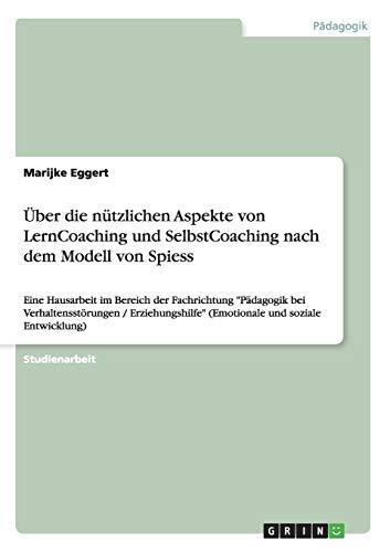 Uber Die Nutzlichen Aspekte Von Lerncoaching Und: Marijke Eggert