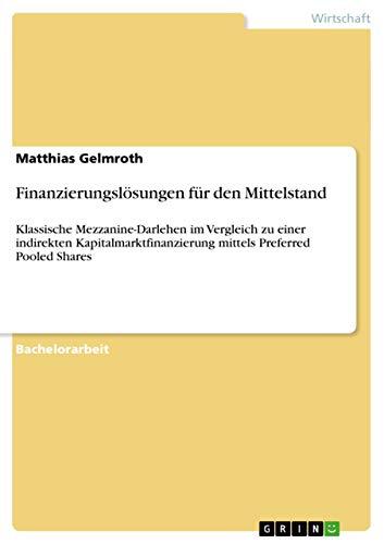 Finanzierungslosungen Fur Den Mittelstand: Matthias Gelmroth