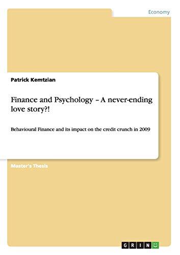 Finance and Psychology - A never-ending love story: Patrick Kemtzian