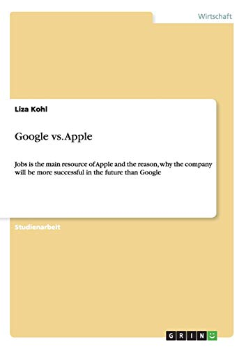 9783656282297: Google vs. Apple