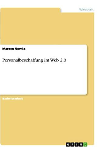 9783656301776: Personalbeschaffung im Web 2.0