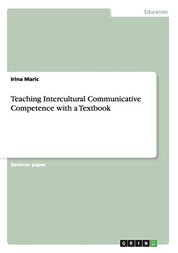 9783656317890: Teaching Intercultural Communicative Competence with a Textbook