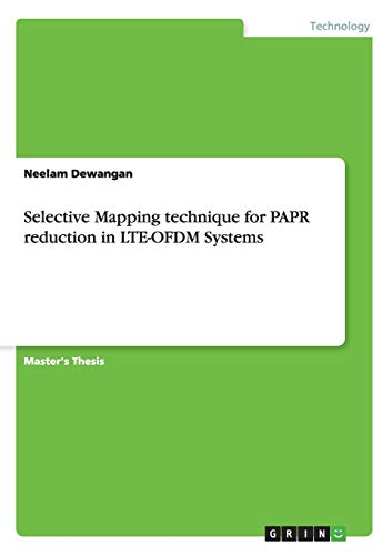 Selective Mapping technique for PAPR reduction in: Neelam Dewangan