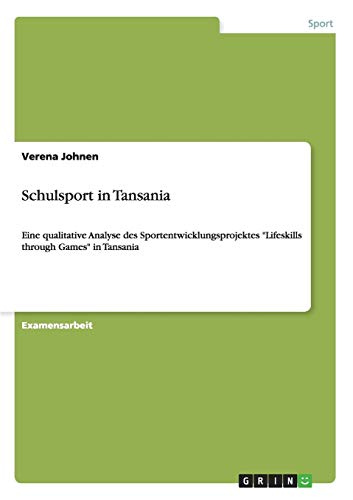 Schulsport in Tansania: Verena Johnen